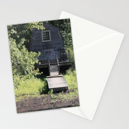 Cabin at the lake Stationery Cards