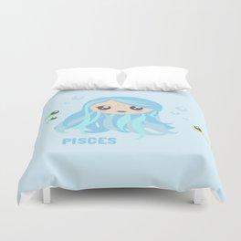 Pisces Duvet Cover