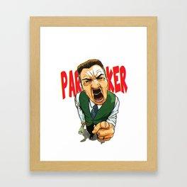 PARKER!!!!! Framed Art Print