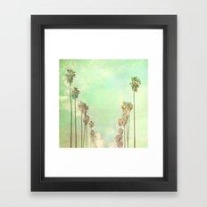 Los Angeles. La La Land photograph Framed Art Print