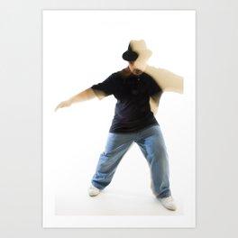 dancer #1 Art Print