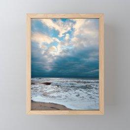 LBI High Sunrise Framed Mini Art Print