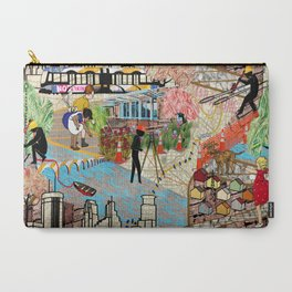 Urban Sightings Collage Carry-All Pouch