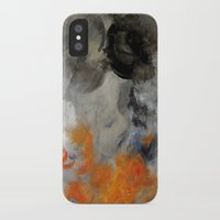 imagerybydianna iPhone & iPod Cases featuring empty hurricane fires by Imagery by dianna