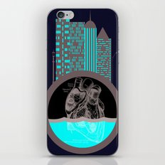 Heart of the City iPhone & iPod Skin