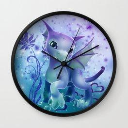 Cuddle Me Dragon Wall Clock