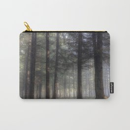 Misty forest - Kessock, The Highlands, Scotland Carry-All Pouch