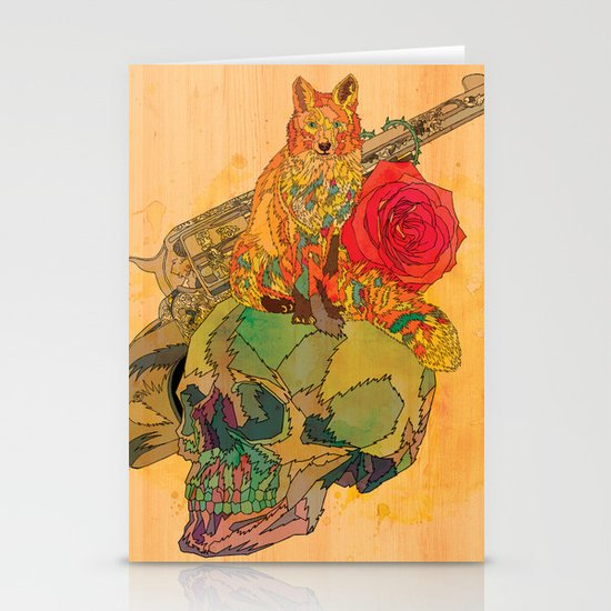 Fox & Rose Stationery Cards