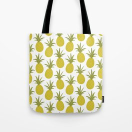 It's raining pineapples Tote Bag