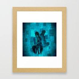 uchiha family Framed Art Print