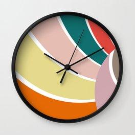 Pattern 2018 008 Wall Clock