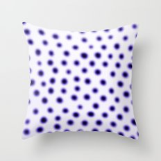 dots of focus Throw Pillow