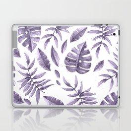 Purple leaves Laptop & iPad Skin