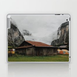 Camping Grounds of Lauterbrunnen, Switzerland Laptop & iPad Skin