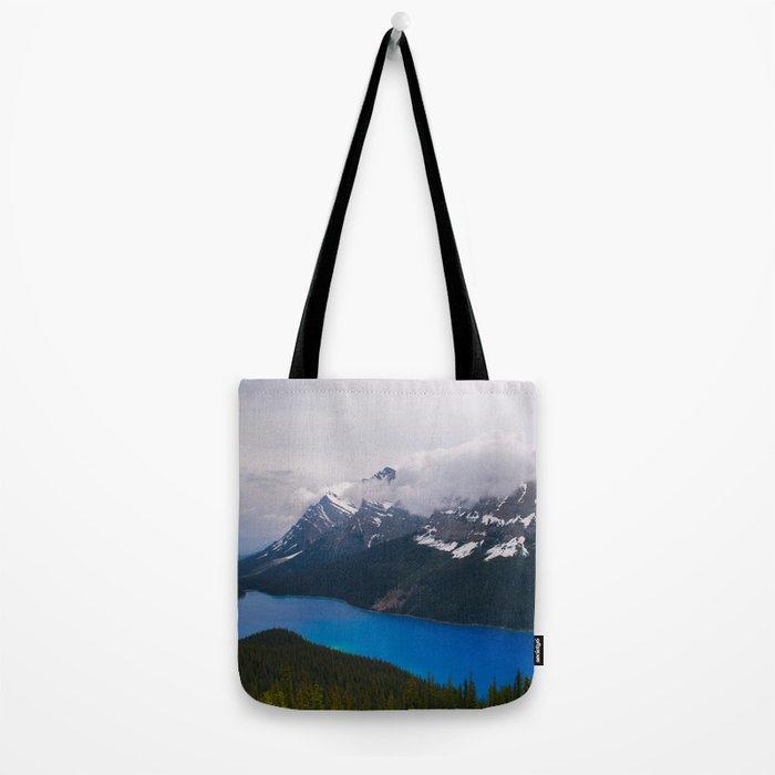 Bright Blue Body Tote Bag