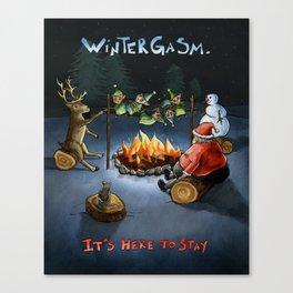 Wintergasm Canvas Print
