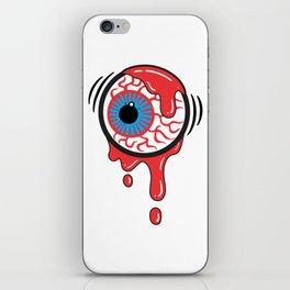 Bloody Eyeball iPhone Skin