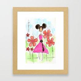 Tia, Hey Girl! Framed Art Print