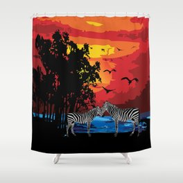 Safari Shower Curtain