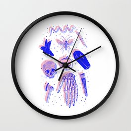 Happy Halloween Wall Clock