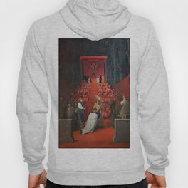 """Jean-Auguste-Dominique Ingres """"The Duke of Alba Receiving the Pope's Blessing in the Cathedral of Sainte-Gudule, Brussels"""" Hoody"""