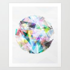 Graphic 30 Art Print