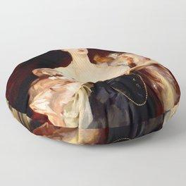 "John Singer Sargent ""Portrait of Lady Helen Vincent"" Floor Pillow"