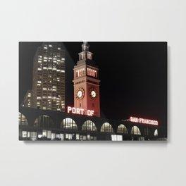 Port of San Francisco Metal Print