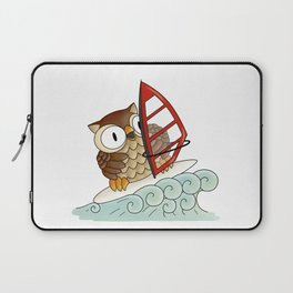 On the crest of a wave Laptop Sleeve
