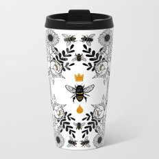 Queen Bee Metal Travel Mug