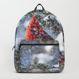 Let It Snow (Northern Cardinal) Backpack