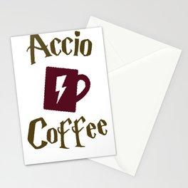 ACCIO COFFEE T-SHIRT Stationery Cards