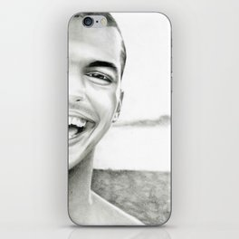 Just smile iPhone Skin
