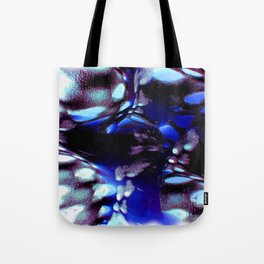 traveling through space and time abstract oil paint Tote Bag