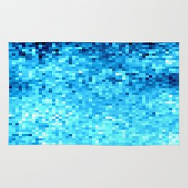TurquoisE Pixels Rug