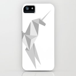 Blade Runner Origami Unicorn iPhone Case