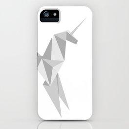 Blade Runner Origami Unicorn iPhone Case