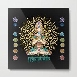 Yoga Studio Metal Print
