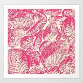 Inkshells I Art Print