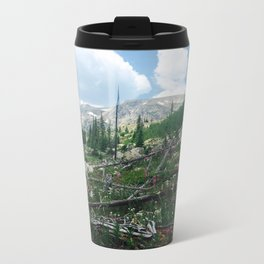 Rocky Mountain Lupine 2 Metal Travel Mug