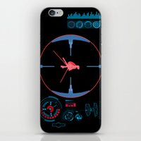 nasa iPhone & iPod Skins featuring Tie Fighter Meets NASA Voyager 1 by Ryan Huddle House of H