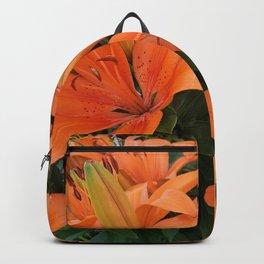 Orange Lillies Backpack