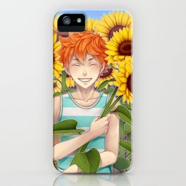 HAIKYUU!! - HINATA SHOUYOU ~ SUMMER iPhone Case