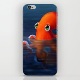 Auggie the Octopus iPhone Skin