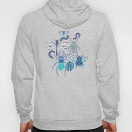 blue bugs Hoody