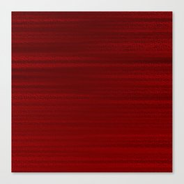 Absolute Red Canvas Print