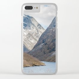 Fjords in Norway Clear iPhone Case