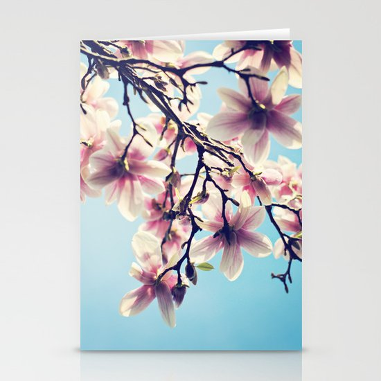 May Magnolias  Stationery Cards
