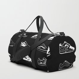 Black Sneaker Duffle Bag
