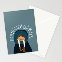 Walrus by Darah King Stationery Cards